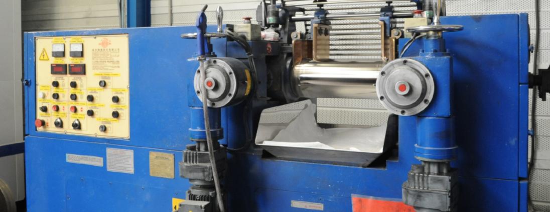 mélangeur pour préparation matière Novelast®, FFKM/FFPM type Kalrez®